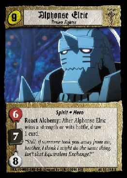Alphonse Elric, Tireless Fighter