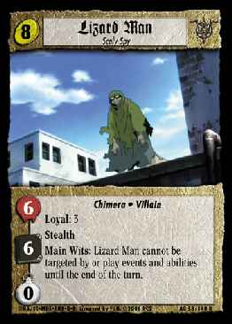 Lizard Man, Scaly Spy